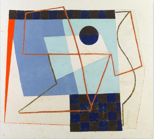 Jeremy ANNEAR - Painting - Sonar Blue III