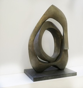 André RAMSEYER - Sculpture-Volume - Vent Debout