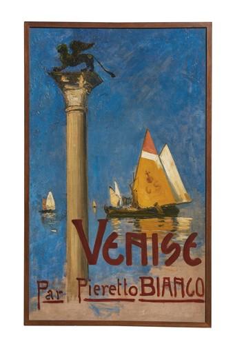 Pieretto BIANCO - Gemälde - Venise par Pieretto Bianco