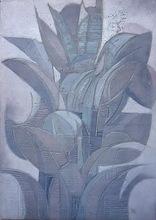 José Maria DE LABRA - Painting - vegetal II
