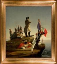 Horace VERNET - Painting - Napoleon auf Elba