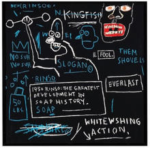 Jean-Michel BASQUIAT - Estampe-Multiple - Rinso
