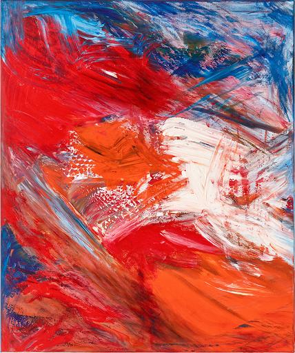 Ursula SCHREGEL - Peinture - La victoire du coq