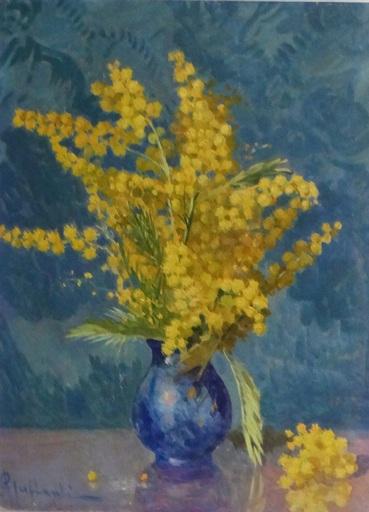 Attilio GUFFANTI - Gemälde - Bouquet de Mimosas