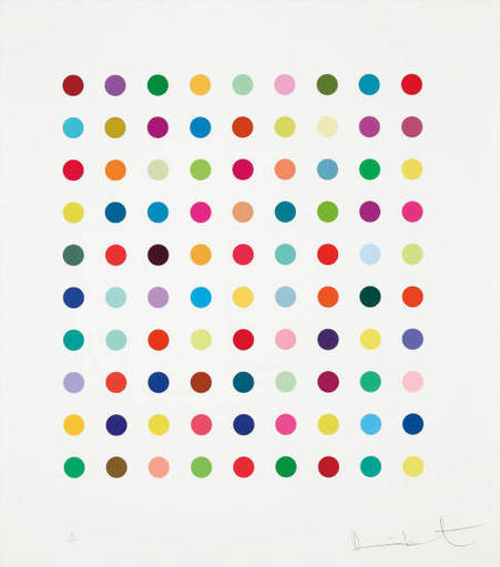 Damien HIRST - Print-Multiple - Lanatoside B