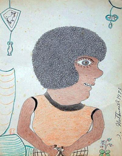 Inez Nathaniel WALKER - Disegno Acquarello - Unknown