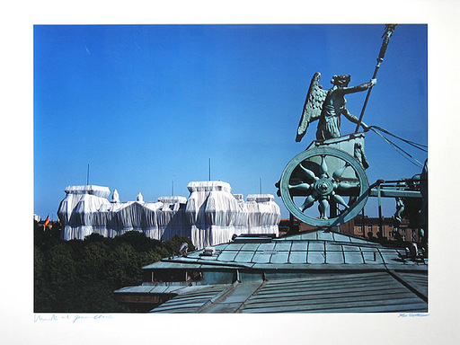 CHRISTO - Photography - Reichstag/Berlin I Wrapped