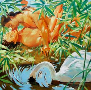 Vladimir  DUBOSSARSKY & Alexander  VINOGRADOV - Pintura - Cigno