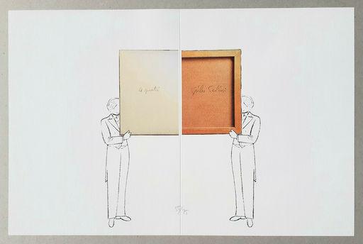 Giulio PAOLINI - Print-Multiple - Per un verso o per l'altro