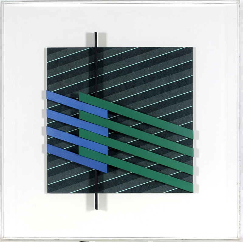 Lorenzo PIEMONTI - Peinture - Cromoplastico 952