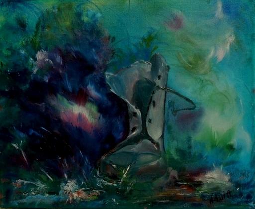 NADIA - Peinture - Naufrage d'une chassure qui a veçu