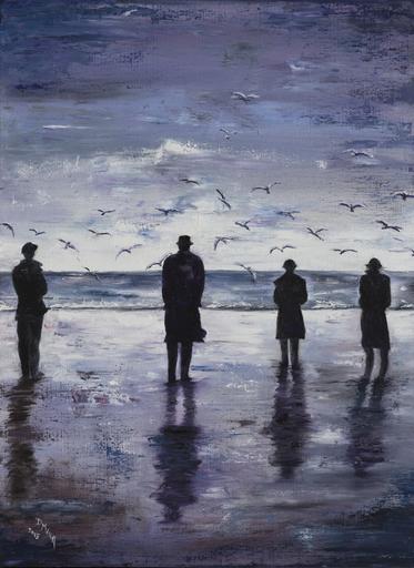 Danielle MAILLET-VILA - Painting - Meditation