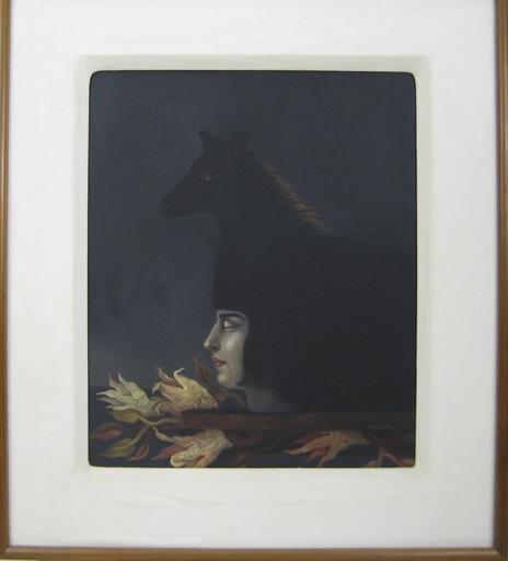 Lucia MAYA - Pittura - EL CABALLO DE HELENA