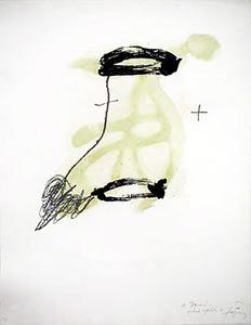 Antoni TAPIES - Print-Multiple - Un Fragment De Statue