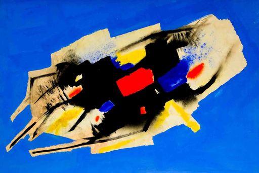 Edmondo BACCI - Peinture - SENZA TITOLO