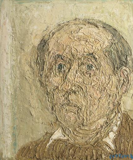 アンドレ・コタボ - 绘画 - Autoportrait