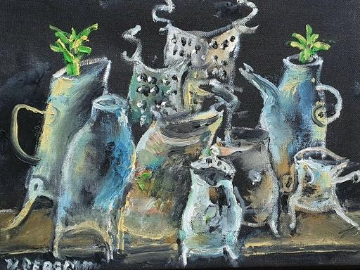 Yosl BERGNER - Gemälde - Still Life