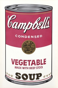Andy WARHOL, Vegetable Made With Beef Stock, from 'Campbell's Soup I'