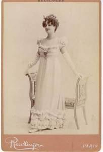 Léopold Émile REUTLINGER - Fotografia - L'actrice Yahne
