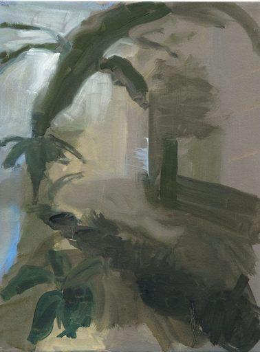 Clémence ARNOLD - Painting - « Cour végétale I »