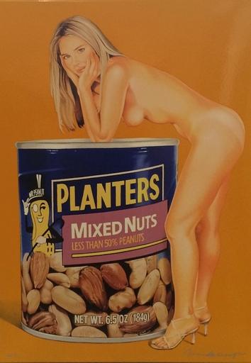 Mel RAMOS - Druckgrafik-Multiple - Mixed Nuts