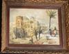 Eugene BARANY - Painting - Old Jerusalem