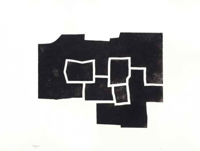 Eduardo CHILLIDA - Stampa-Multiplo - Banatu III