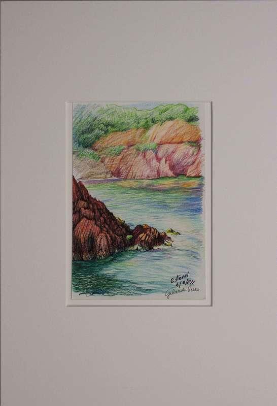 Piero GILARDI - Drawing-Watercolor - Estevel