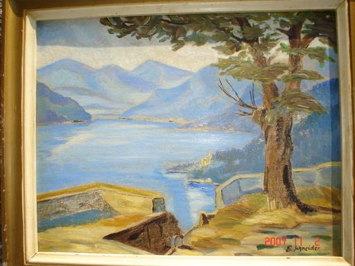 Emil Philippe Auguste SCHNEIDER - Pintura - lac des quatres cantons