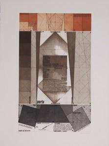 Giò POMODORO - Druckgrafik-Multiple - La geometria prattica