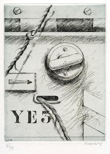 Peter KLASEN - Print-Multiple - GRAVURE SIGNÉE AU CRAYON NUM/99 HANDSIGNED NUMB/99 ETCHING