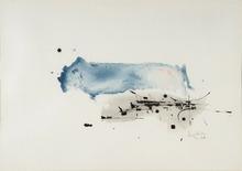 乔治•马修 - 水彩作品 - Composition 1960