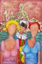 Valerio BETTA - Painting - Venezia co S. Maria della Salute