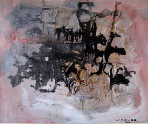 Jacob WEXLER - Disegno Acquarello - Composition