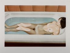 Mel RAMOS - Grabado - Bonnard's bath