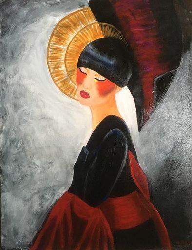 Françoise AUGUSTINE - Peinture - Izanami
