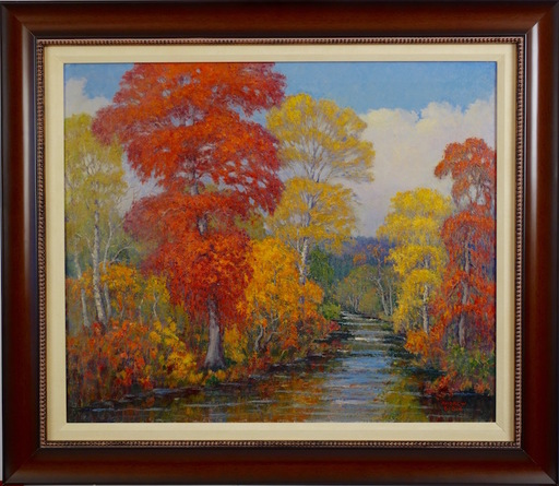 Andrew DOBOS - Painting - October