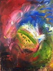 Shijo Alan BURNER - Gemälde - #5 Requiem- Mozart