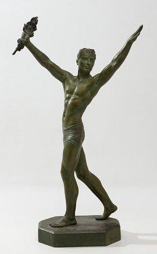 Dimitri CHIPARUS - Scultura Volume - Atleta trinfador