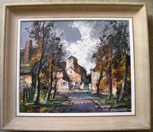 Robert FALCUCCI - Pintura - SUR LE MAIL
