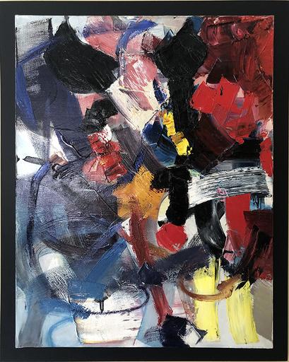 Jean MIOTTE - Painting - Scene Hilarante