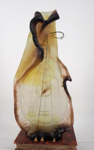 Salvador DALI - Sculpture-Volume - Guitar