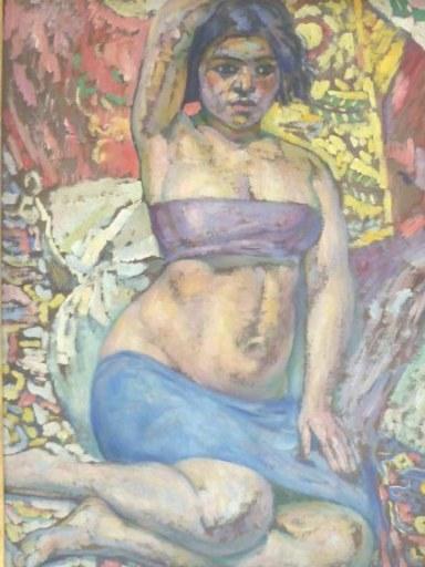 Augustin CARRERA - Pintura - Jeune orientale