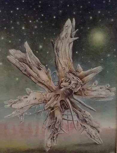 Erich GARGERLE - Gemälde - La stella cadente