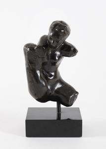Auguste RODIN - Sculpture-Volume - Petit torse d'Iris