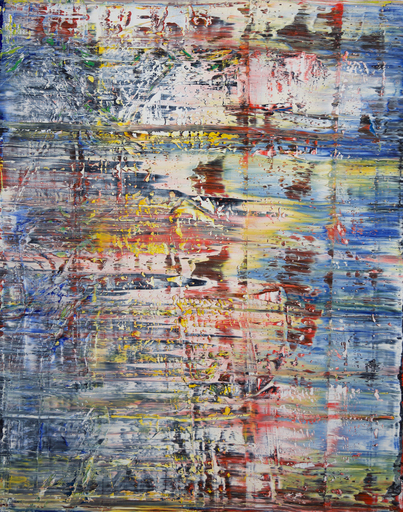 Harry James MOODY - Peinture - abstract Elene  No.426