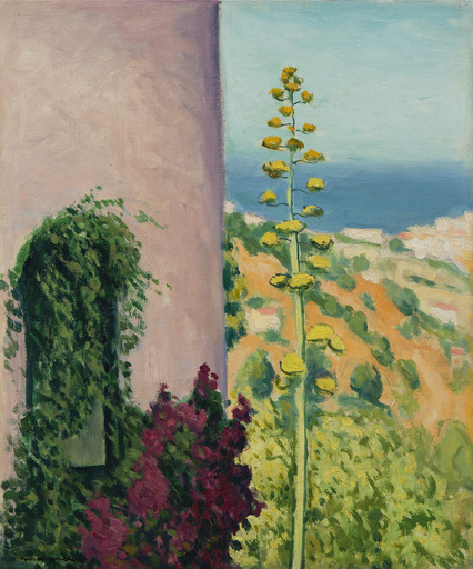 Albert MARQUET - Painting - Aloes fleuri