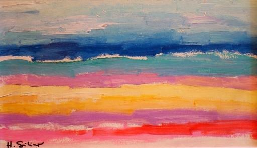 Herberts SILINS - 绘画 - Sea