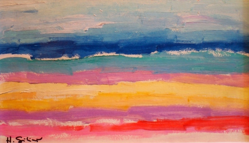 Herberts SILINS - 绘画 - Sea