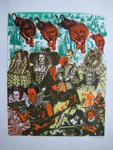 ERRÖ - Print-Multiple - LITHOGRAPHIE 1969 SIGNÉE CRAYON NUM100 HANDSIGNED LITHOGRAPH